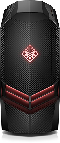 HP Omen (880-068ng) Gaming PC (GTX 1070, Ryzen 7 1800X, 256GB SSD, 2TB HDD, 16GB RAM, Windows 10) schwarz