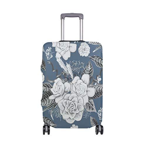 ALINLO Vintage Gardenia - Funda para equipaje (18 – 32 pulgadas), multicolor (Multicolor) - ASSLDHN677