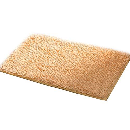iSmile Alfombrilla de baño gruesa antideslizante suave absorbente Shaggy para baño, bañera, ducha, almohadillas de cocina, inodoro, decoración de suelo lavable, 15 colores