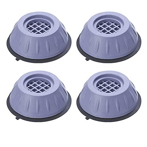 Lubudup Universal vibrationsdämpare för tvättmaskiner torktumlare antivibrationsdämpare reservdelar, vibrationsdämpare kuddar för tvätttorktumlare, kylskåp, bord