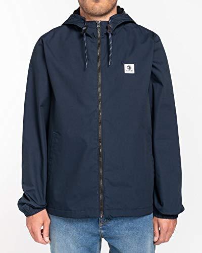 Element Herren Wasserabweisende Jacke Wolfeboro ALDER - Wasserabweisende Jacke Für Männer, Eclipse Navy, M, U1JKC3