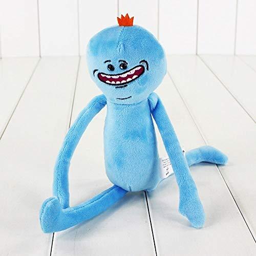 Mcttui relleno muñecas 20 CM Rick y Morty juguete de felpa Sanchez Smith Mr Meeseeks Jerry verano juguetes de peluche rellenos de la muñeca Animales Estatuilla Juguetes, Feliz triste Científic