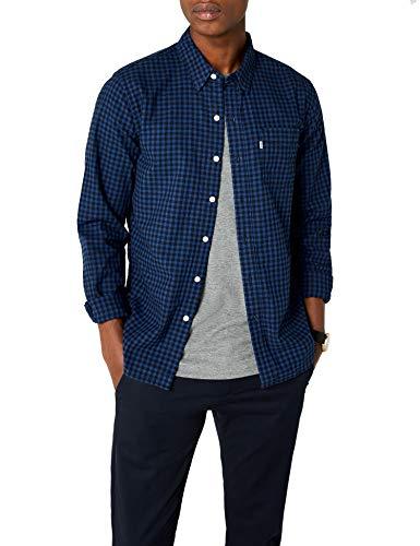 Levi's Herren Freizeithemd Sunset 1 Pocket Shirt, Blau/Mentha2 Indigo 0344, Medium