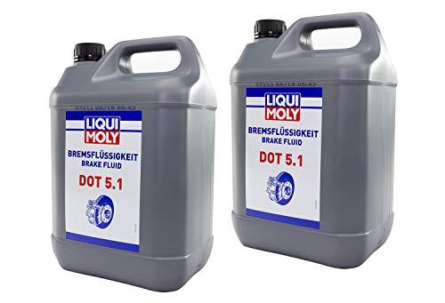 Bremsflüssigkeit LIQUI MOLY DOT 5.1 10 Liter für Beta Husaberg Husqvarna KT M Yamaha