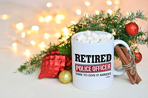 Product Image 7: Retired Police Officer Gifts Mug Funny Christmas Retiring Retirement Gag Gifts for Women Men Dad Mom Retirement Coffee Mug Gift. Retired Mugs for Coworkers Office & Family. Unique Ideas for Her & Him