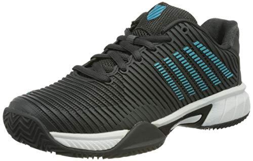 K-Swiss Hypercourt Express 2 HB, Zapatos de Tenis, Negro, 38 EU