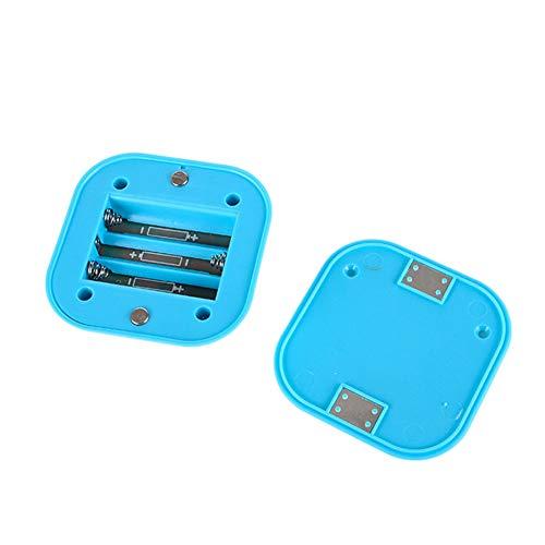 XHSHLID noodnachtlampje, led, draadloos, wandlamp, nachtlampje, sensorlicht, werkt op batterijen