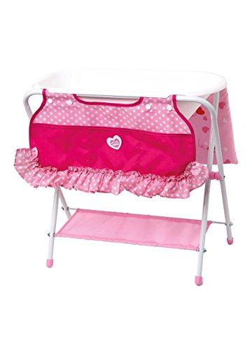 giochi preziosi rdf50862 love bebe - fasciatoio con vaschetta e tasche