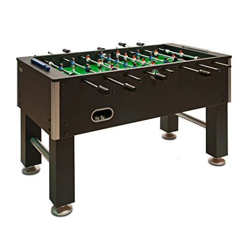 DEMA Tischfussball Kicker International, schwarz, 70230