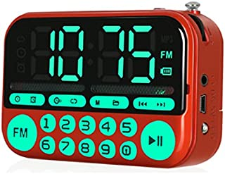 Iycorish KK22 Large Screen Radio MP3 Card Speaker Portable Music Player