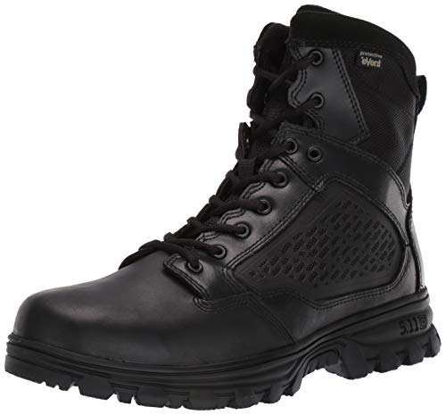 5.11 Tactical Evo 6 Waterproof Side Zip Military Boots, Noir - Noir, 42 EU