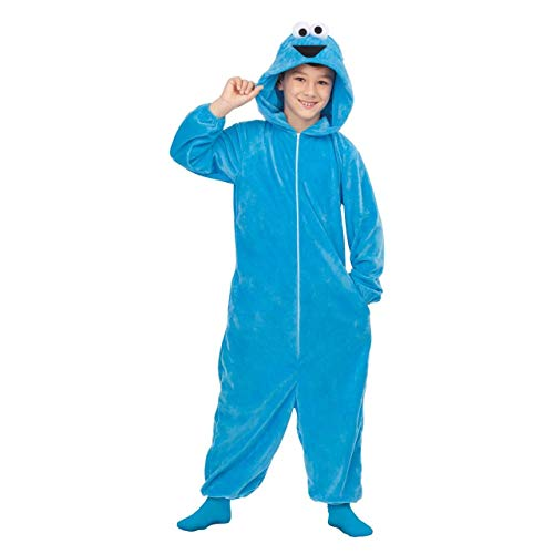 Barrio Sésamo Disfraz Pijama del Monstruo de Las Galletas para niños