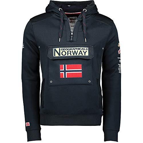 Geographical Norway - Sudadera para hombre azul marino M