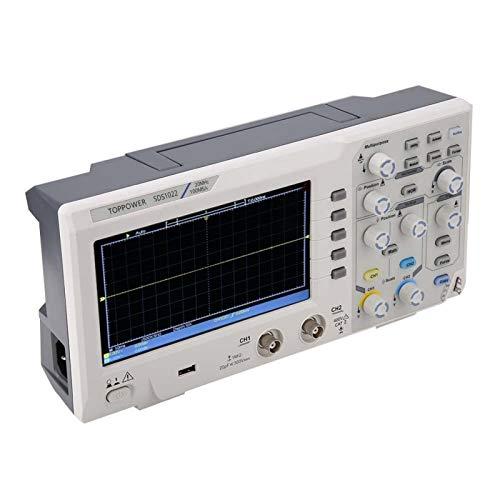 Osciloscopio digital de 2 canales, osciloscopio para la industria