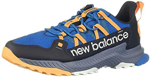 New Balance MTSHAMW_44, Zapatos para Correr Hombre, Blue, EU