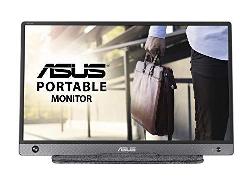 ASUS ZenScreen MB16AH 39,62 cm (15,6 Zoll) tragbarer USB-Typ-C-Monitor (Full HD, Micro-HDMI, Blaulichtfilter) schwarz