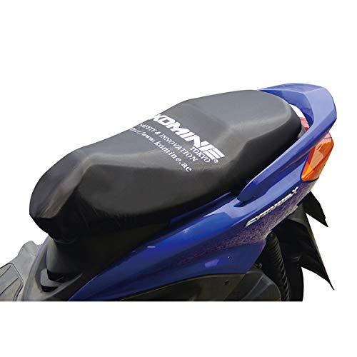 コミネ(KOMINE) バイク用 モーターサイクルシートカバー ブラック L AK-106 672 防水