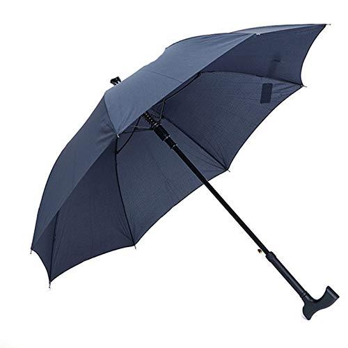 ACHICOO Lanlan - Ombrello multifunzione, antiscivolo, antivento, con protezione UV e impugnatura a T