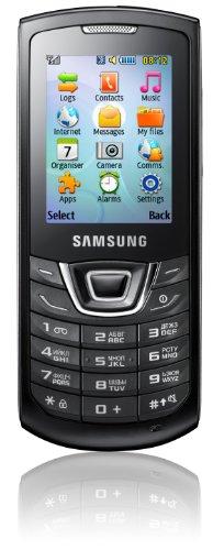 Samsung C3200 Handy (5,1 cm (2,0 Zoll) Bildschirm, 2,0 Megapixel-Kamera, MP3-Player, ohne Branding) deep-black