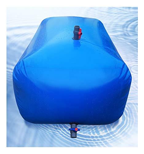 RSH Bidón Plástico con Grifo Colapsable Gran Capacidad Bolsa De Agua Plegable 500L...