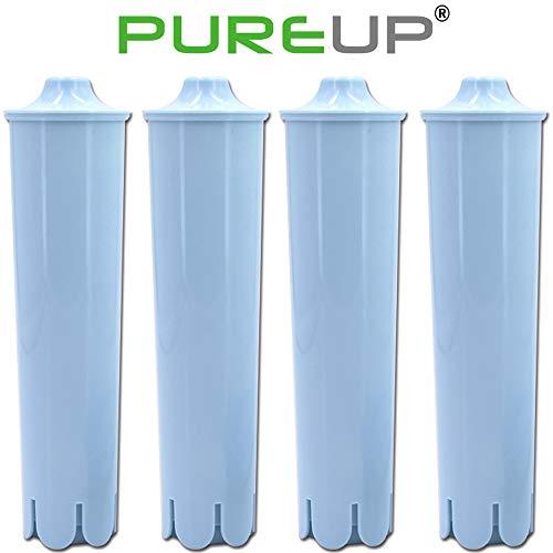 PUREUP Wasserfilter kompatibel für Jura Clearyl Claris Blue Filter Capresso Kaffeemaschinen Ersatz 4er-Pack