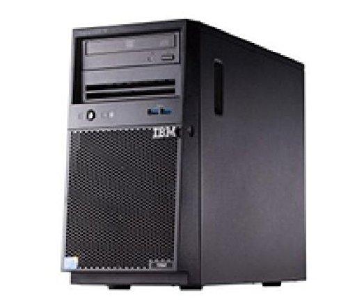 X3100 M5 4C E3-1220V3 80W 3.1G X3100 M5, Xeon 4C E3-1220 v3 80W 3.1GHz/1600MHz/8MB, 1x8GB, O/Bay HS 2.5in SAS/SATA, SR M1115, Multi-Burner, 430W p/s, Tower