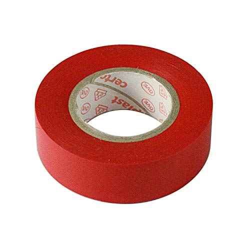 VS-ELECTRONIC - 493327 Isolierband AT7 15mmx10m rot 60100242