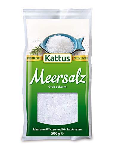 Kattus Meersalz, grob gekörnt (1 x 500 g)