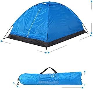Tält för 2 personer ultralätt enkelt lager vattentåligt campingtält PU1000 mm med bärväska vandring resor 3 säsonger