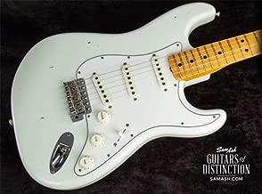 Fender Custom Shop Jimi Hendrix Voodoo Child Strat Journeyman Relic Electric Guitar Olympic White (SN:VC0471)