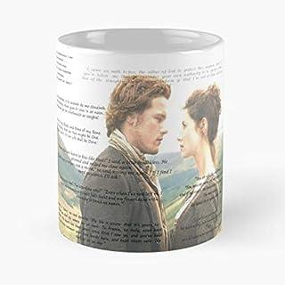 92Wear Outlander Jamie Fraser Sam Heughan Claire Randall Frank Jack Best 11 oz Taza De Café - Taza De Motivos De Café