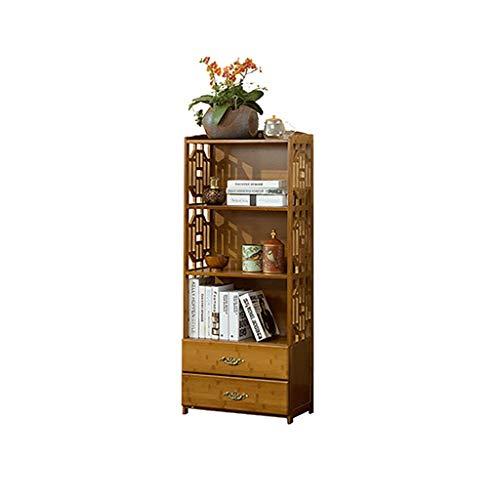 Zfggd Libreria a cassettiera Libreria scaffale per Soggiorno (Size : 52cm*29cm*130cm)