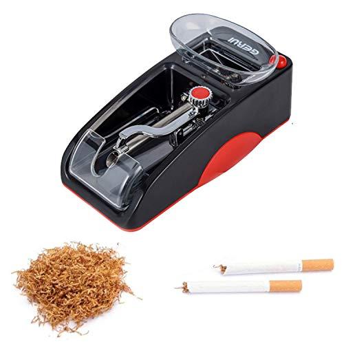 Máquina de liar cigarrillos eléctrica, máquina automática para hacer tabaco, mini rodillo...