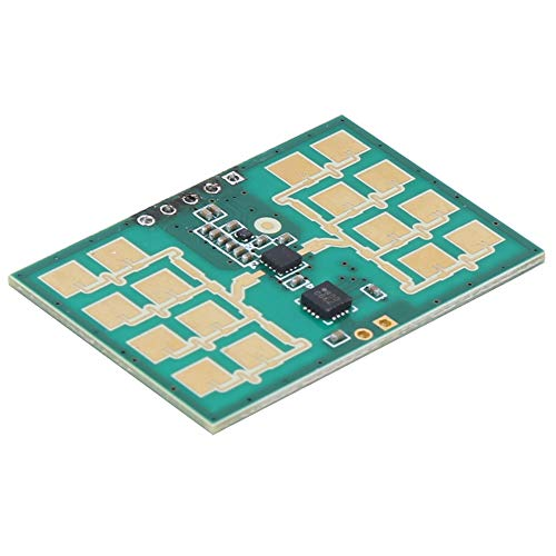 Fácil de instalar sensor de radar, 20s Tiempo de calibración inicial 24GHz 150uA Junta Botón Plástico Marino
