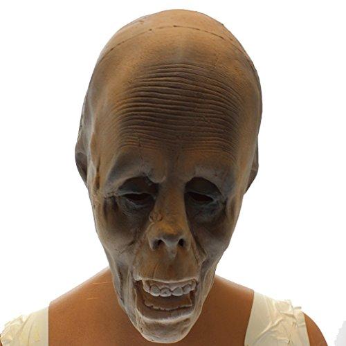 Masque zombie brulé grande qualité souple