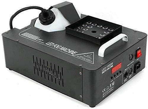 1500W Nebelmaschine LED Bühnenlicht mit Fernbedienung für Disco Party DJ DMX 220V 12000 cu.ft/min 2L