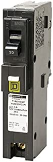 Square D by Schneider Electric HOM120PCAFIC Homeline Plug-On Neutral 20 Amp Single-Pole CAFCI Circuit Breaker,