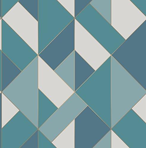 Fine Decor Fd41993 UK Apex Geo flanc papier peint