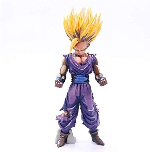 ADIS Animation - Dragon Ball Z Super Saiyan Gonhan Anime Figura de acción Coleccionable Regalos para fanáticos de Dragon Ball 12 cm