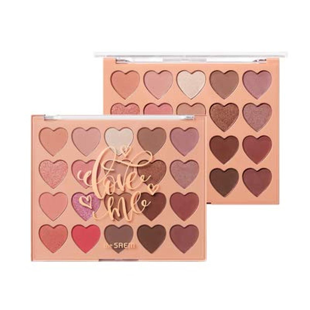ペルーマイナーブロンズ【theSAEM】 ザセム ラブミーシャドウパレット[ラブデイズ] Love Me Shadow Palette[Love Days] 1.5gx20 韓国コスメ アイパレット アイシャドウ アイメイク