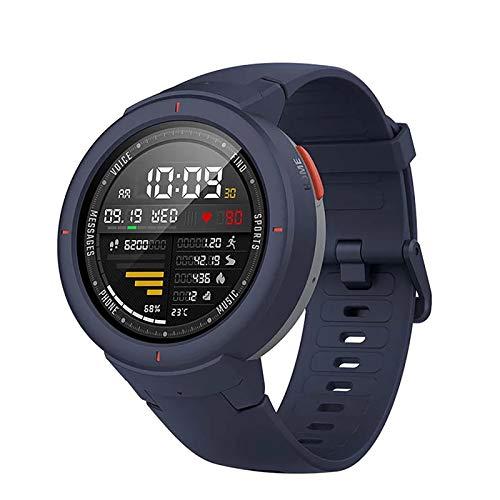 ZGZYL Reloj Elegante De Los Hombres con 1: 3 Pantalla AMOLED, Monitor De Ritmo Cardíaco Fitness Super Battery, Rastreador De Fitness para Hombres IP68 Reloj De Mujer Impermeable para Android iOS,B