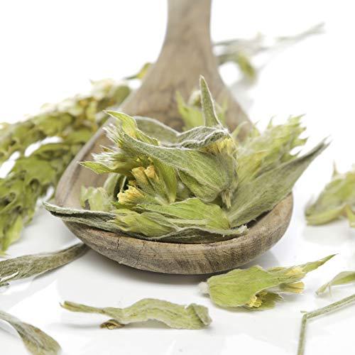 Herbis Natura Griechischer Bergtee, Kräutertee aus griechischem Eisenkraut, Kraut mit ganzen Blüten, zur Entspannung, sideritis scardica 100 g