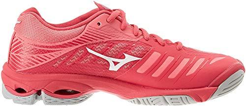 Mizuno Wave Lightning Z4, Zapatillas para Mujer, Rosa (Azalea/Wht/Camelliarose 001), 38 EU