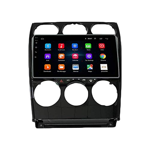 JIBO Android 10 GPS Navegación Cabeza Unidad IPS 2.5D Toque Pantalla Teléfono controlar Auto Radio Multimedia Jugador Vídeo Receptor para Mazda 6 2004-2005 Nav Sat