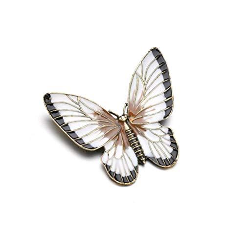 N/W Brooches for Women Ladies Tropfende Schmetterlingskarikatur-Insektenbrosche-Damenkorsage Gift Jewellery Brooch Pins