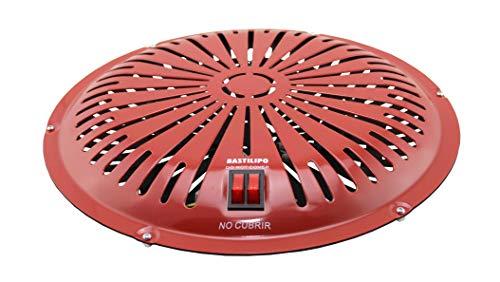Bastilipo - Brasero electrico 900W para mesa de camilla - Radiador electrico