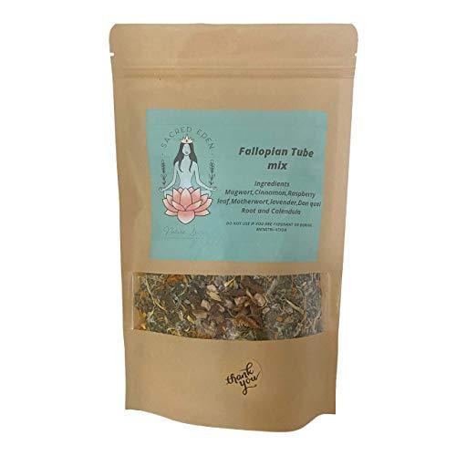 Yoni Steam Herbs Relaxing Fallopian Fertility Tube Mix Organic Herbal Blend Unblocks Pelvic Congestion Promoting Feminine Health
