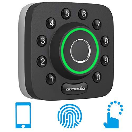 Lockstate LS-DB5i-SN-B Remotelock Wi-Fi Electronic Deadbolt Door Lock 550 Satin Nickel