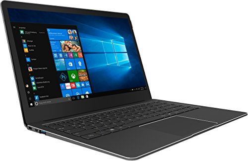 TREKSTOR PRIMEBOOK P14-P, Ultrabook (13,3 Zoll Full-HD IPS Display, Intel Pentium N4200, 4 GB RAM, 64 GB Speicher, Fingerprintsensor, Windows 10) schwarz