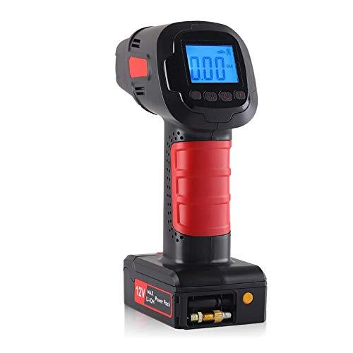 Compresor Bomba De Aire Sin Cable Automática Rechargeable Moto - Mini Bomba Compresor Inflador De Aire Batería Digital Inteligente, Hinchador Bomba De Inflado Electrico Padel Paddle Surf Manual